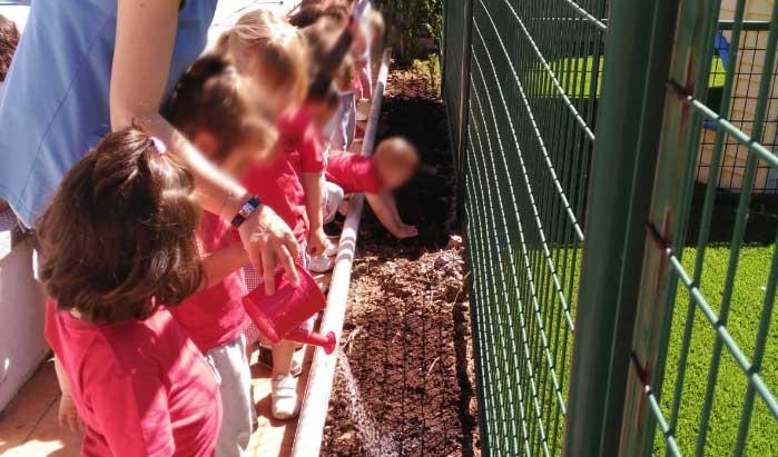 huerto pozuelo escuela infantil